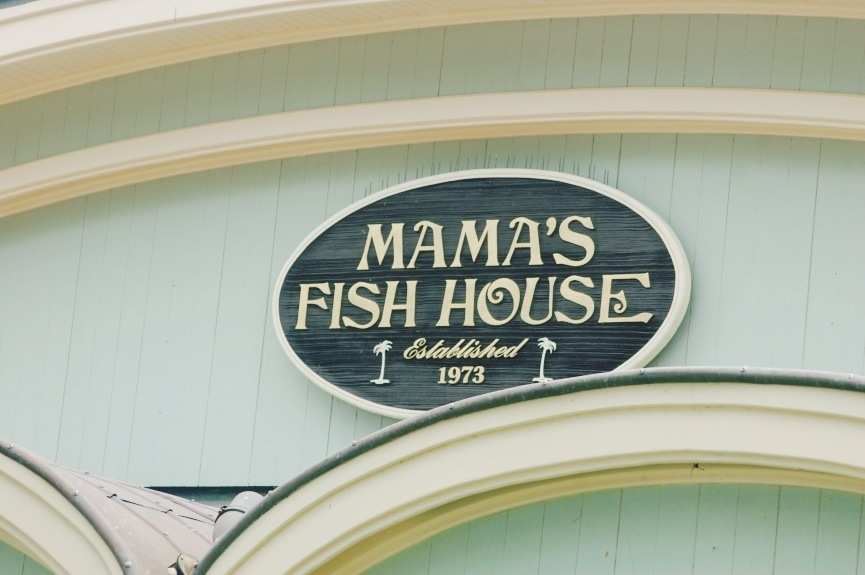Mama s fish house for Mamas fish house lunch menu