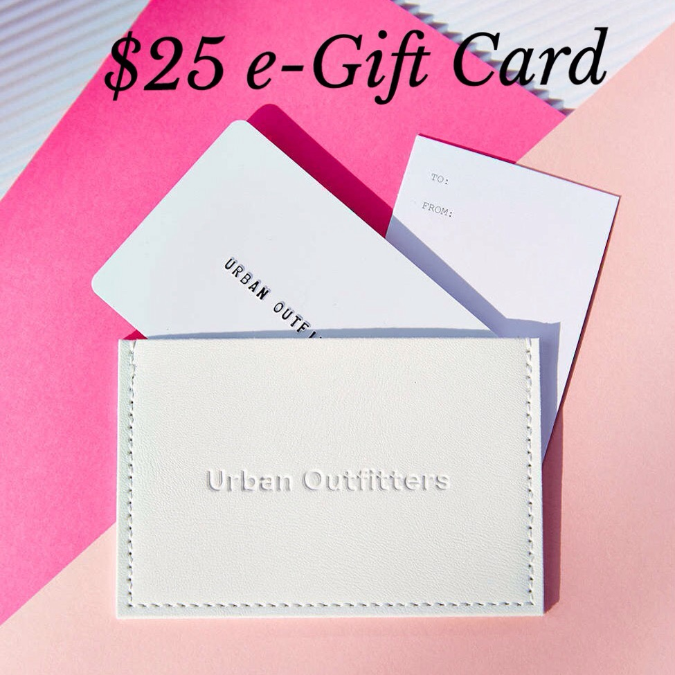 NOW CLOSED 23rd Blog Giveaway: $25 Urban Outfitters e-Gift Card |